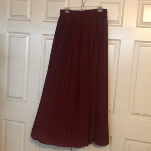 Dresses & Skirts - Pleated maxi skirt from target